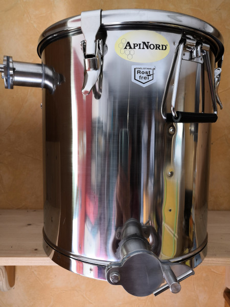 Api Nord Siebkübel 35 kg mit Spannverschluß Deckel