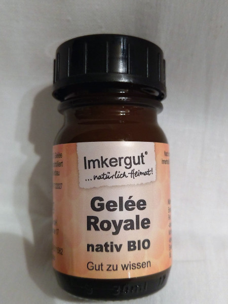 Bio Gelée Royale nativ 40 g Glas