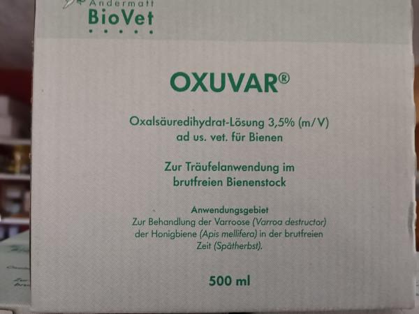 Oxuvar Oxalsäuredihydraht-Lösung 3,5%