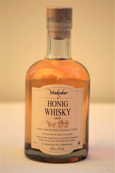 Honig Whisky Likör Minkenhus 0,5L