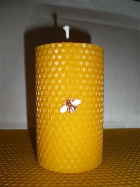 4er Set Stumpen Kerze ca. 130 g