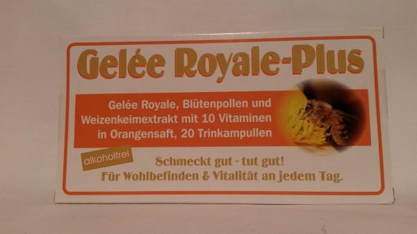 Gelee Royale Plus Trinkampullen ohne Alkohol