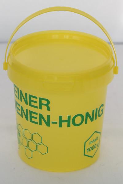 Eimer gelb Inhalt 1 kg mit Aufdruck