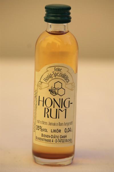 Honig Rum 40 ml Flasche