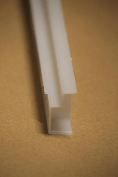 Segeberger Kunststoff Schiene für Zargen