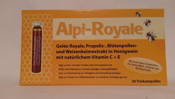 Alpi Royale Trinkampullen
