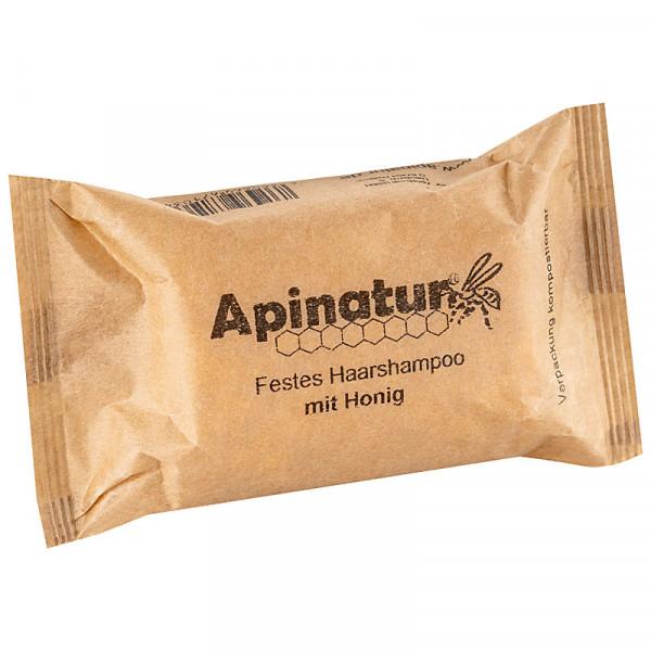 festes Shampoo 100 gr Verpackung kompostierbar