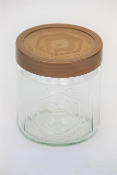 DIB Glas 500 g Glas mit Deckel - nur Abholung, kein Versand möglich-